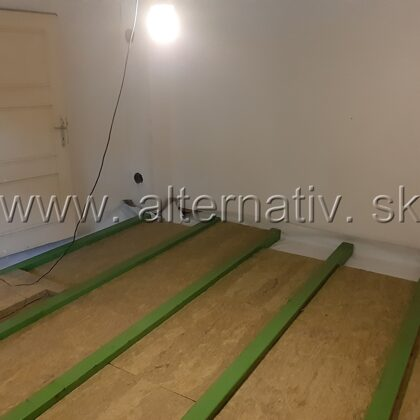 zateplenie podlahy vidiecky dom
