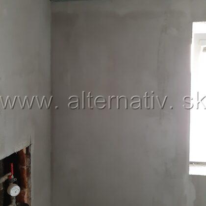 kúpeľňa vyrovnaie stien pred obkladaním
