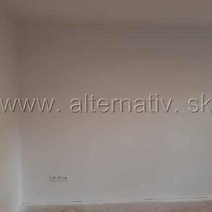 airless maľovanie, byt, Handlová