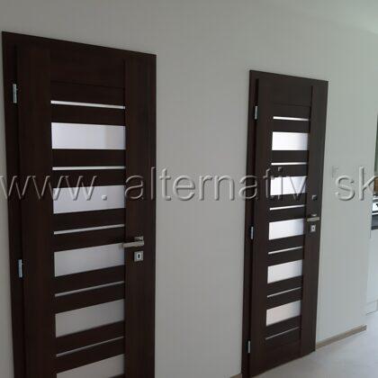 montáž interierových dverí okres Prievidza