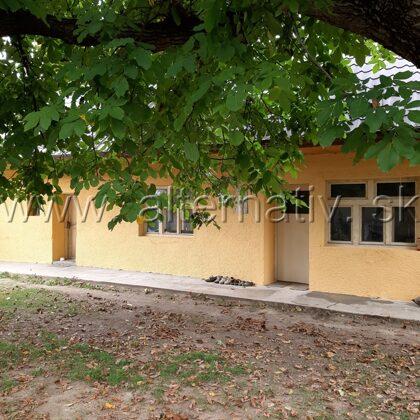 oprava fasadý na vidieckom dome